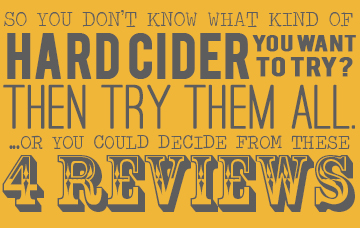 Hard cider reviews