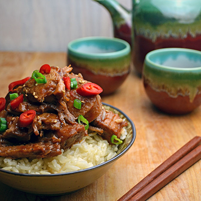 Chinese-Style Barbecue Country Ribs
