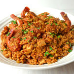 Chicken, Shrimp, and Sausage Jambalaya