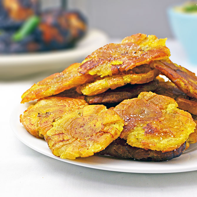 Tostones are delicious, addictive, and ridiculously easy to make.