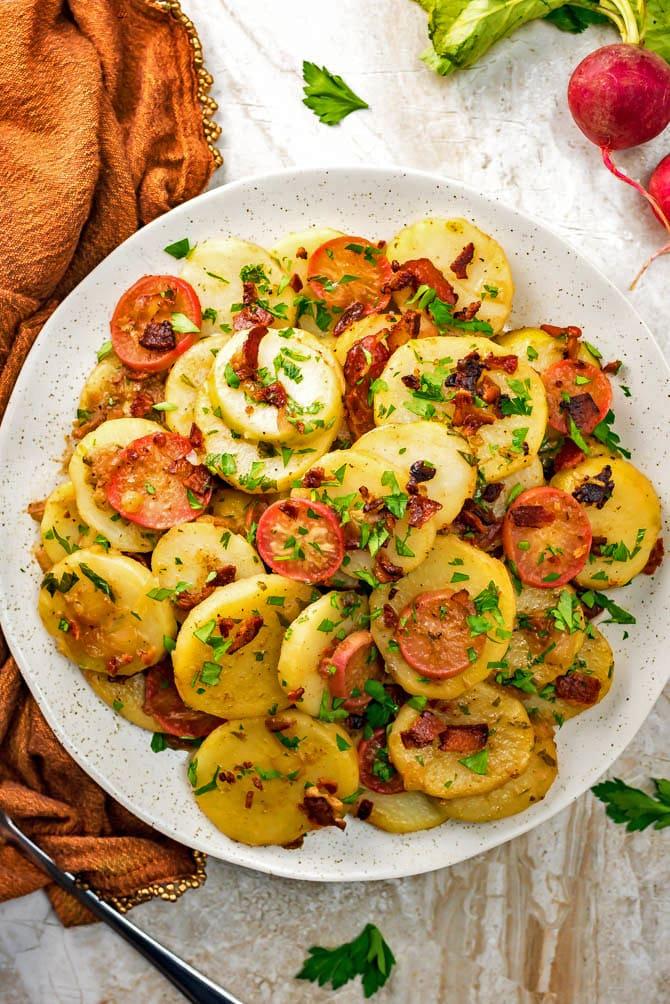 Cold German Potato Salad Recipe Mayonnaise