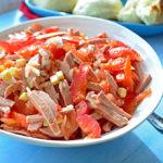 Omi's Wurstsalat (German Bologna Salad)