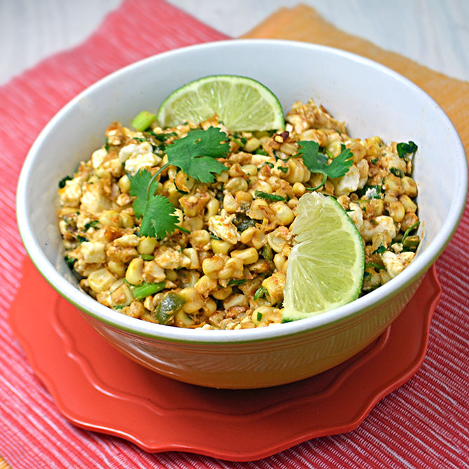 Esquites (Mexican Street Corn Salad)