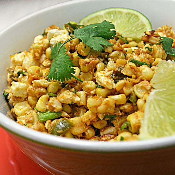 Esquites) Mexican Street Corn Salad - Host The Toast