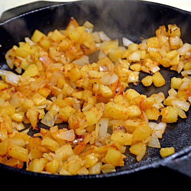 Pineapple mixture for Tacos Al Pastor