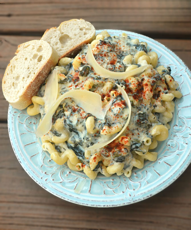 Spinach and Artichoke Dip Alfredo