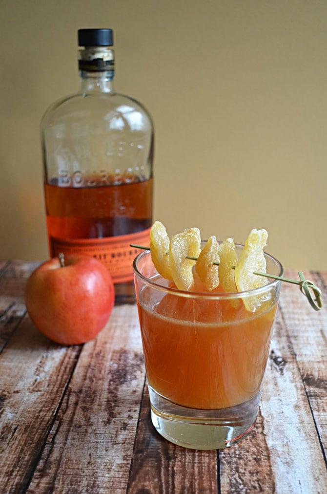 Fireside Bourbon Cocktail