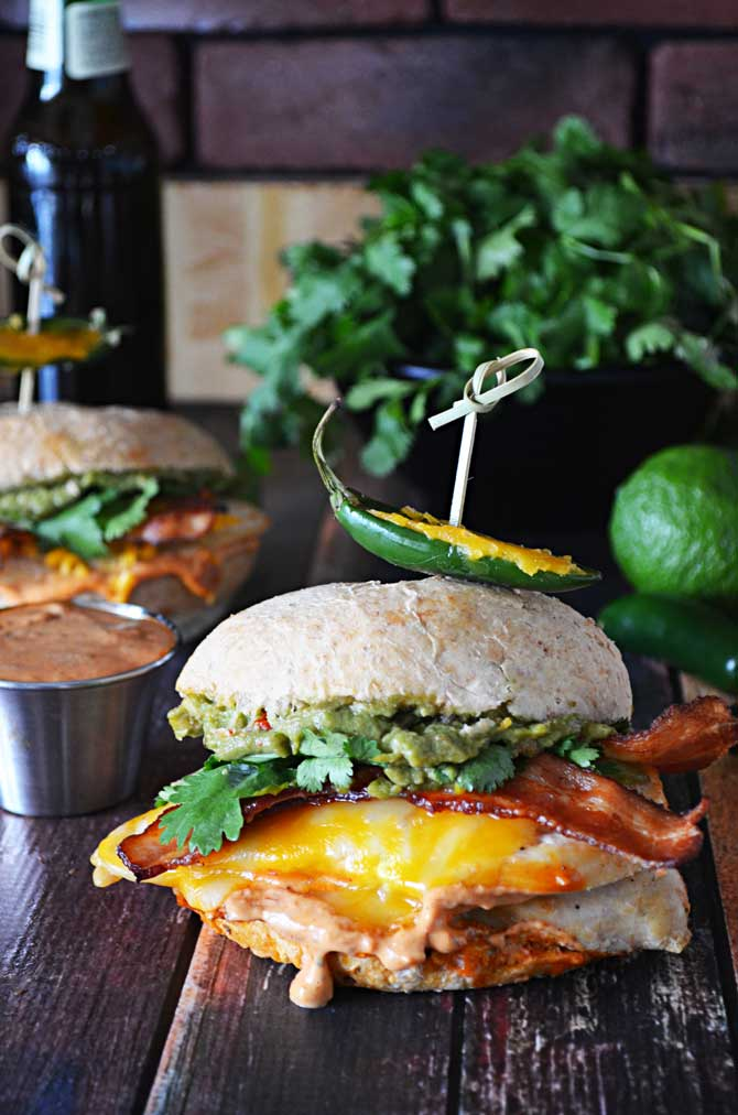 Tequila Lime Chicken Sandwiches with