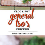Crock Pot General Tso's Chicken