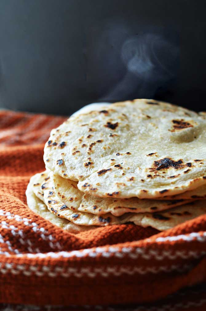 Homemade Flour Tortillas Host The Toast