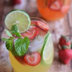 Mango Strawberry Sangria