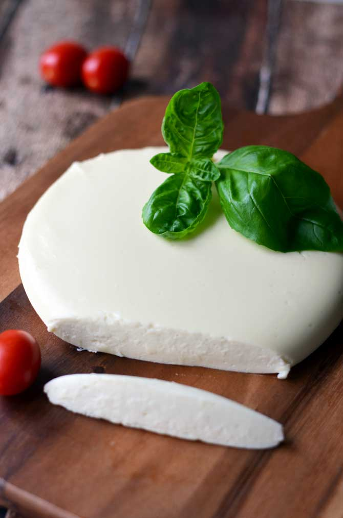 Favorite Melty Mozzarella.  It's easy to make and costs way less!  Not to mention mozzarella this fresh is just amazing beyond words. | hostthetoast.com