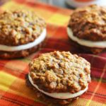 Pumpkin & Apple Cider Oatmeal Creme Pies