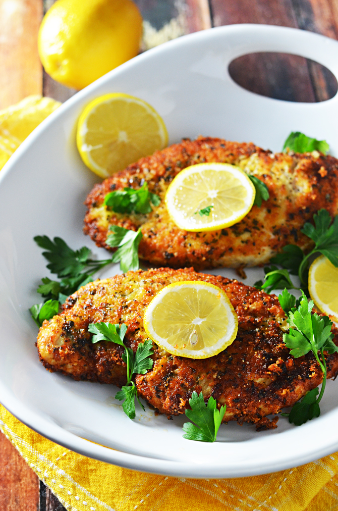 5 Ingredient Breaded Lemon Chicken - Host The Toast