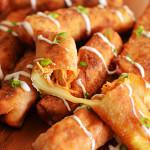 Buffalo Chicken Mozzarella Logs
