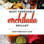 Easy Vegetable Enchilada Skillet
