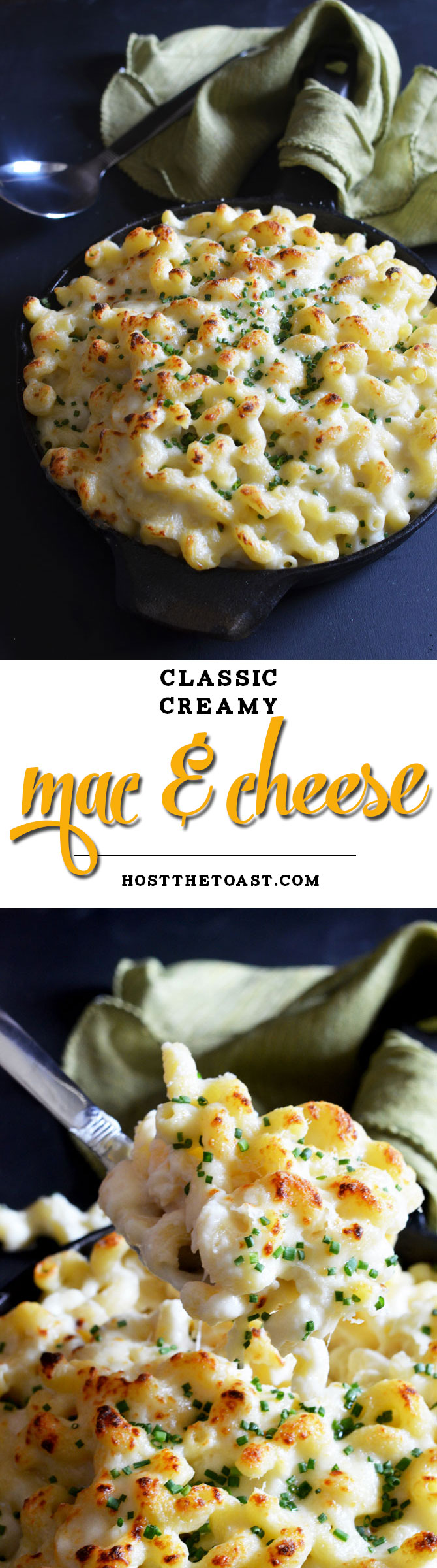 Classic Creamy Macaroni and Cheese. Simply the best. | hostthetoast.com