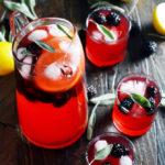 Boozy Blackberry Sage Lemonade