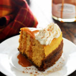 Slow Cooker Pumpkin Cheesecake