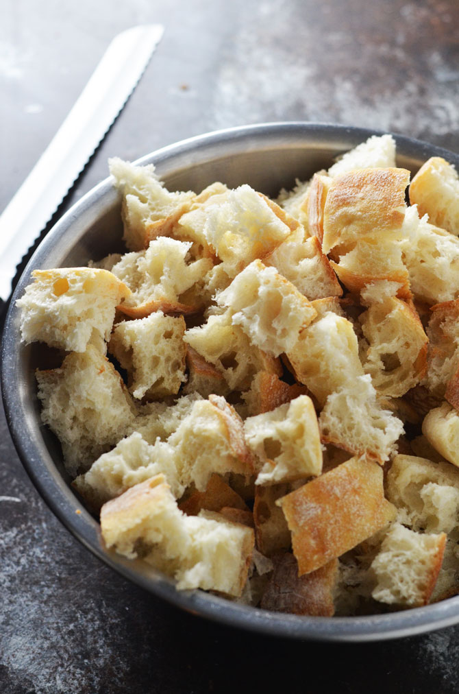Italian Style Stuffing. Ciabatta bread, italian sausage, fennel, and parmesan cheese make this stuffing a deliciously different side dish for Thanksgiving! | hostthetoast.com