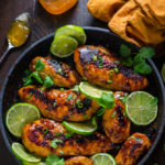 Sticky Chipotle-Peach Chicken