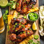 Hawaiian Huli Huli Grilled Chicken Wings
