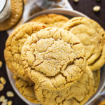 The Best Chewy Café-Style Peanut Butter Cookies