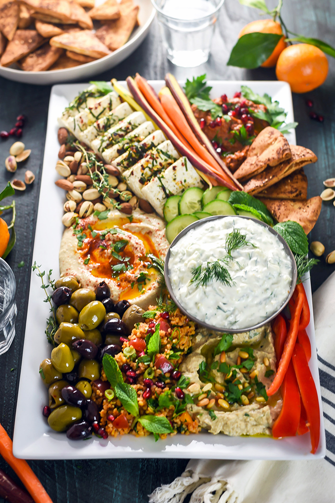 Christmas Bowls And Platters.Mezze Party Platter Host The Toast