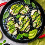 Grilled Avocado Balsamic Chicken