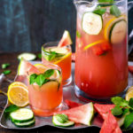 Boozy Watermelon Mint Lemonade
