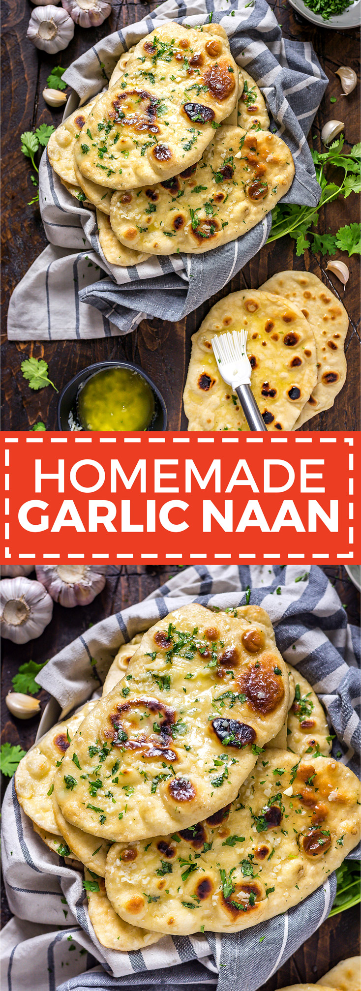 Homemade Garlic Naan Host The Toast