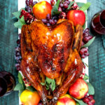 Juicy Cider and Sage Glazed Turkey with Gravy