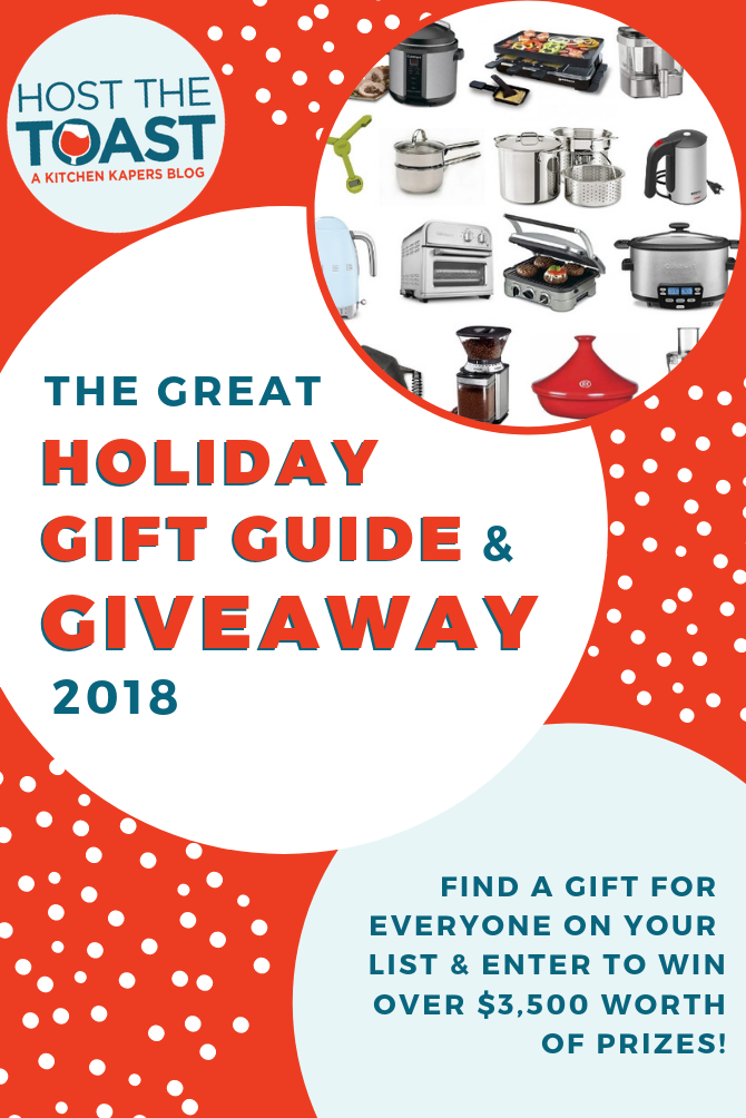The Great Holiday Gift Guide & Giveaway 2018. We've got a round-up of our absolute favorite Christmas presents for everyone on your list, and we're giving away over $3,500 worth of prizes, to boot. Check it out and enter to win!