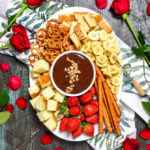 The Easiest Boozy Chocolate Hazelnut Fondue