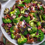 Charred Broccoli Salad with Hot Honey Dressing