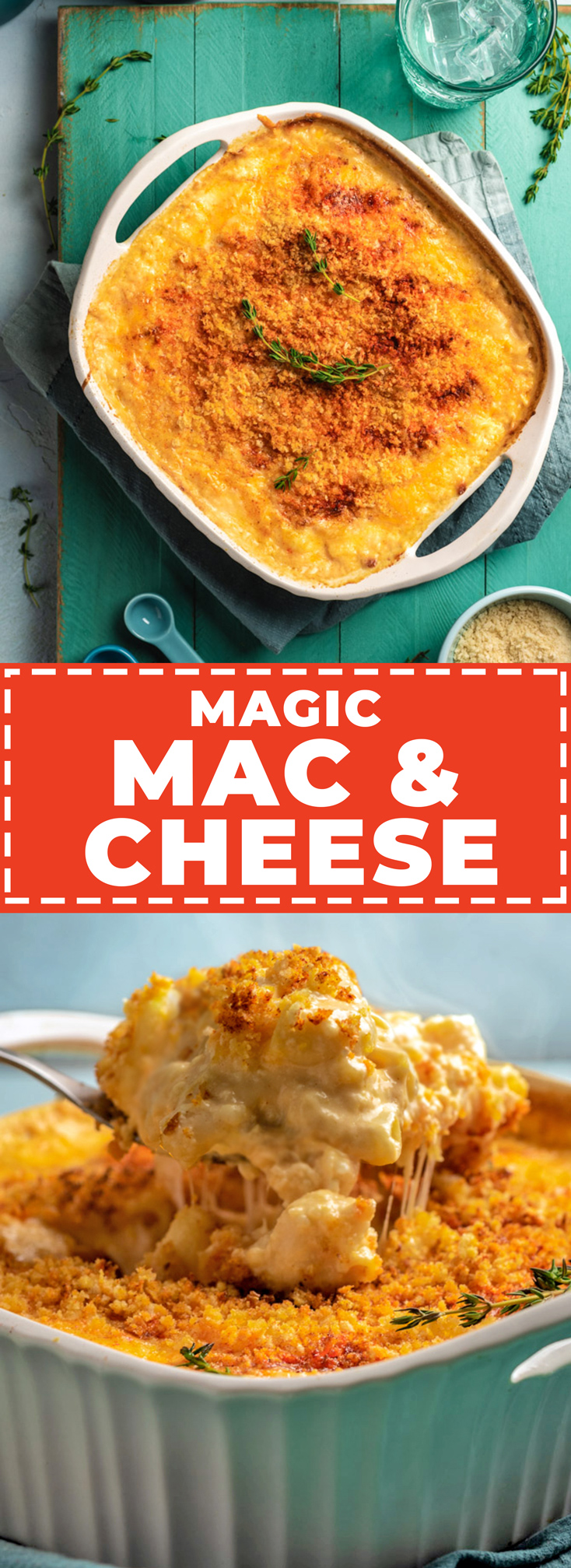 Magic Mac and Cheese is a no-boil, no-roux, and no-nonsense recipe for the richest and most flavorful baked mac of your life. While its flavor is deliciously complex, its foolproof method is (truly) simple to cook and customize. | hostthetoast.com