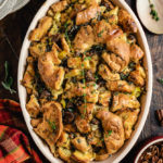 Croissant Sausage Stuffing