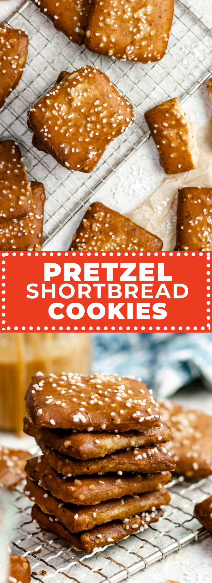 Inspired by the iconic cookies from Philly's Lost Bread Co., these Pretzel Shortbread Cookies are a melt-in-your-mouth mashup that's half pretzel, half shortbread, and 100% unlike anything you've ever tasted.| hostthetoast.com